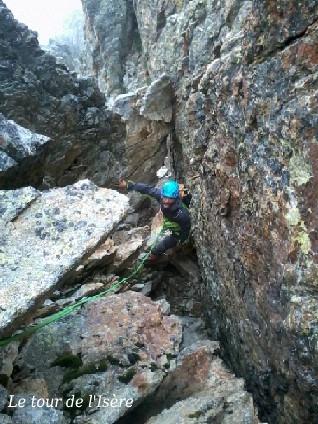 Trouver sa route dans les débris d'une montagne en perpétuel transformation...