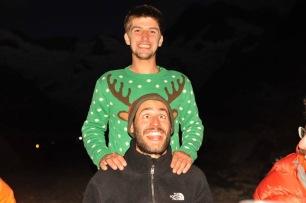 Gus et Raph et le renne !
