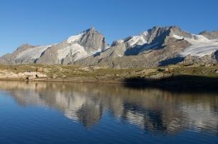 le lac noir face à la Reine Meige