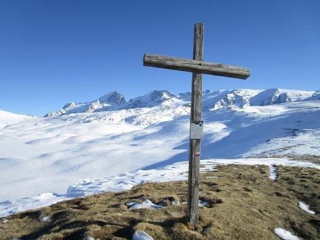 Croix de St George, et derrière, la Meige !