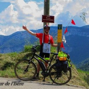 Col de mézelier, dernière étape en vélo !