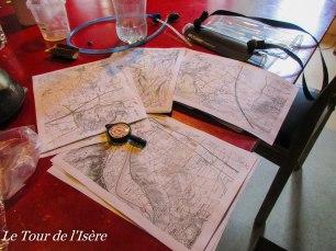 Jour de pluie = jour de repos ! planification de la suite, calcul de distance, ...