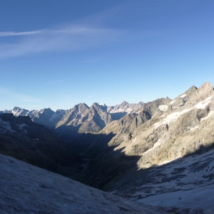 Belle vue sur la vallée des Etançons.